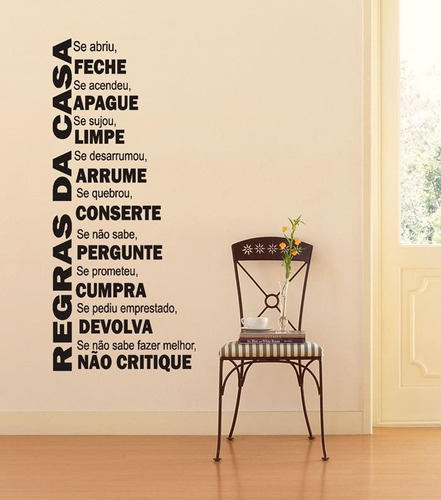 adesivos decorativos frases pensamentos personalizados, casa