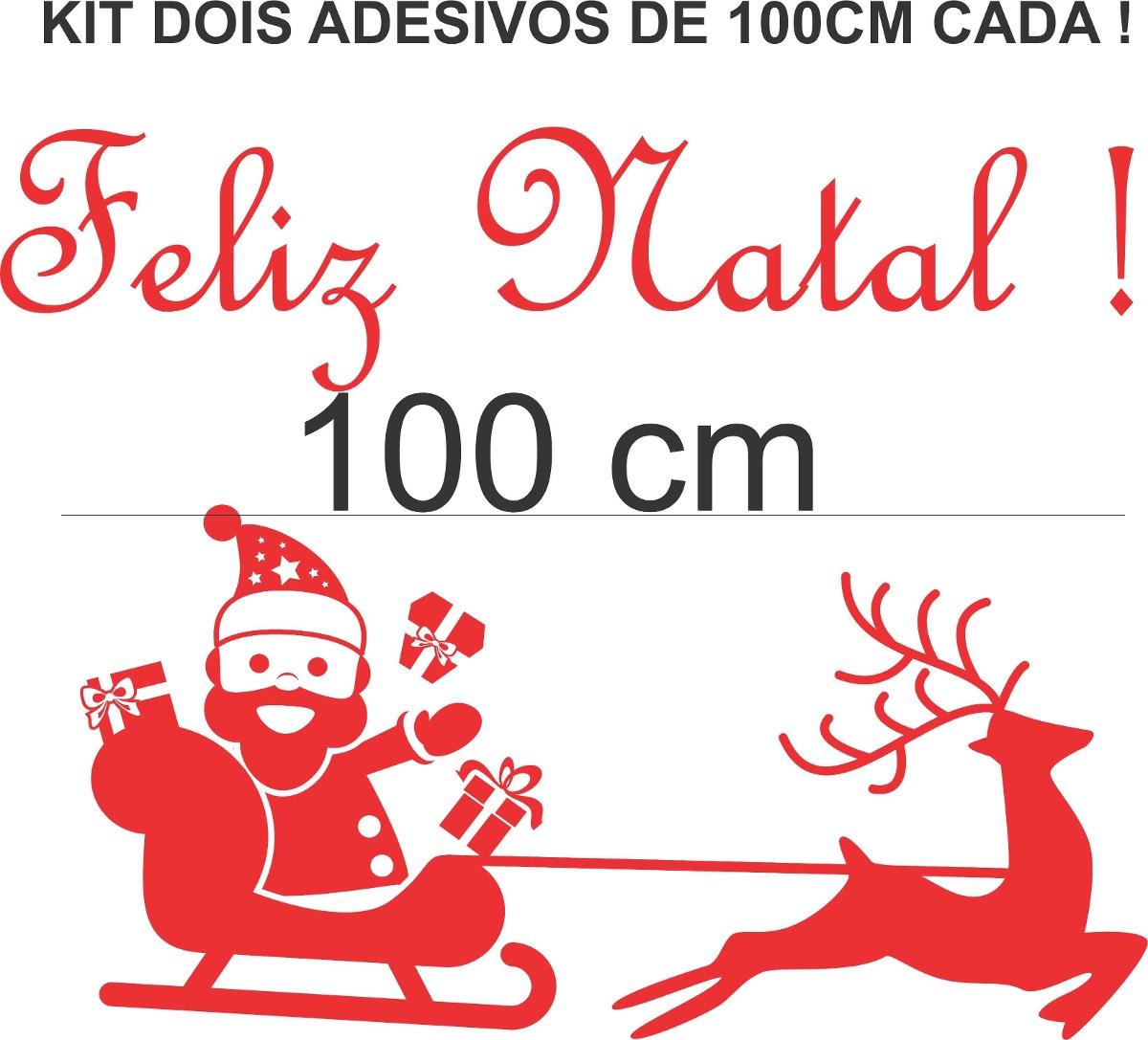 Aparador Vitrina Comedor ~ Adesivos Decorativos Natal Noel Vitrine Loja Vidro Parede