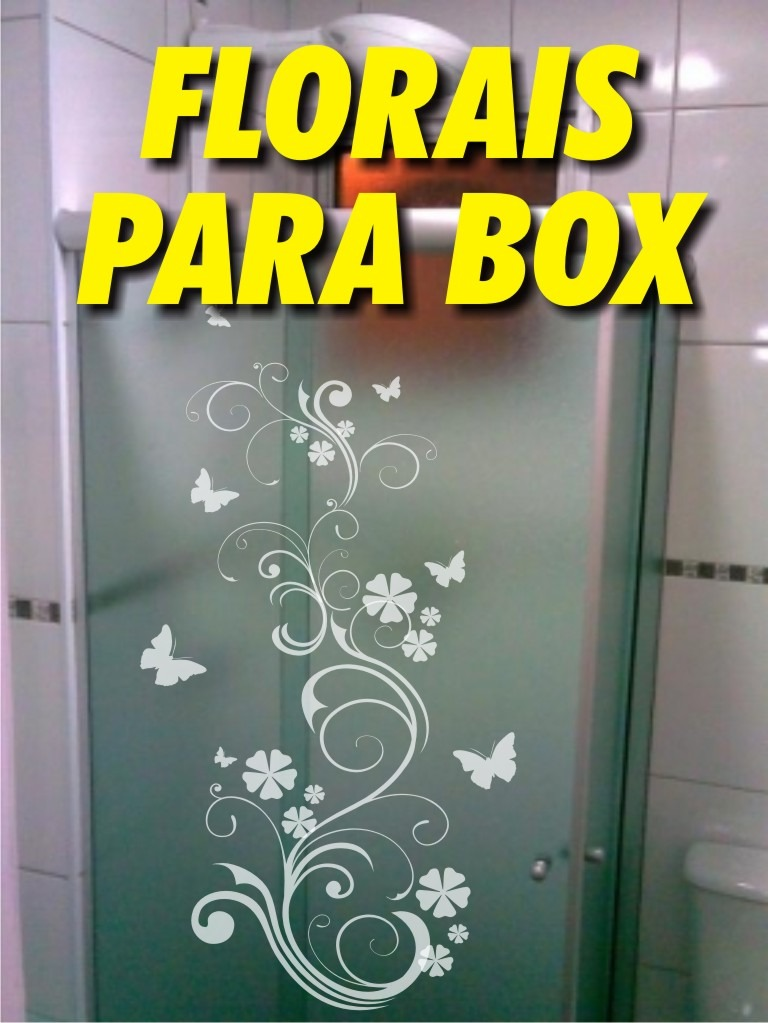 Adesivo De Parede Arvore Mercado Livre ~ Adesivos Decorativos Para Box De Banheiro frete Grátis R$ 59,99 em Mercado Livre