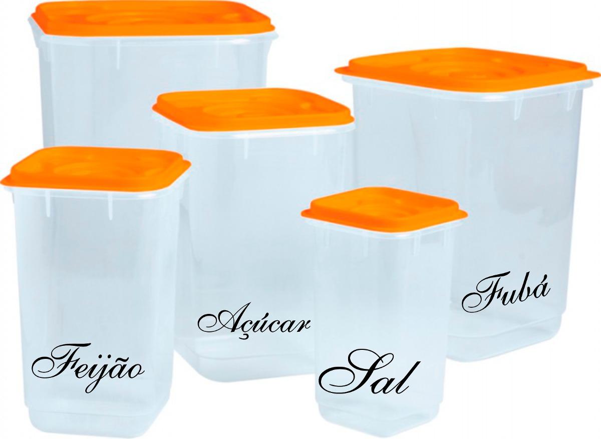 Adesivos Decorativos Para Potes De Mantimentos 10 Unidades R  ~ Potes Decorativos Para Cozinha