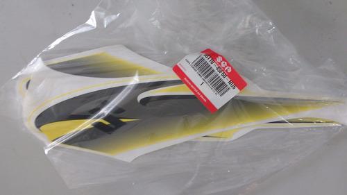 adesivos do tanque suzuki yes amarela 125