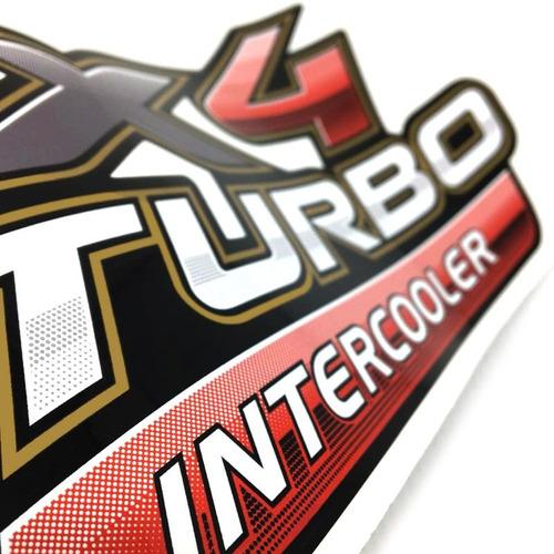 adesivos emblema 4x4 turbo intercooler toyota hilux