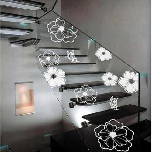 adesivos flores para parede,  maquina de lavar e geladeira
