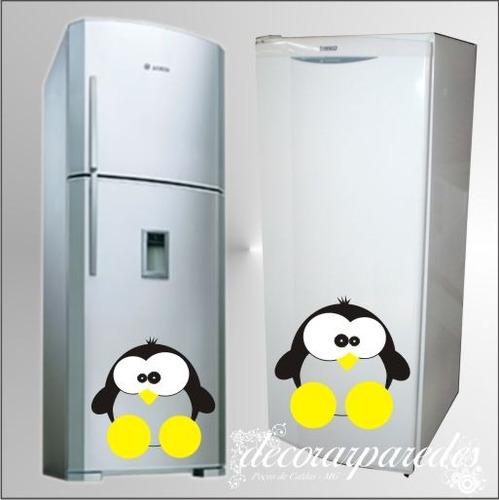 adesivos geladeiras pinguim fiote