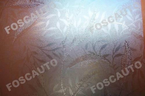 adesivos jateado texturizado para box vidros janelas portas