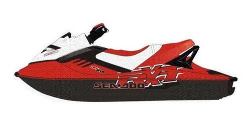 adesivos jet ski sea doo rxt - 2007 (sob encomenda)