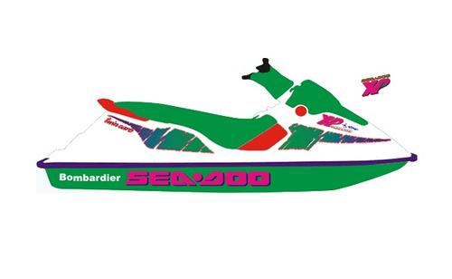 adesivos jet ski sea doo xp - 1993  (sob encomenda)