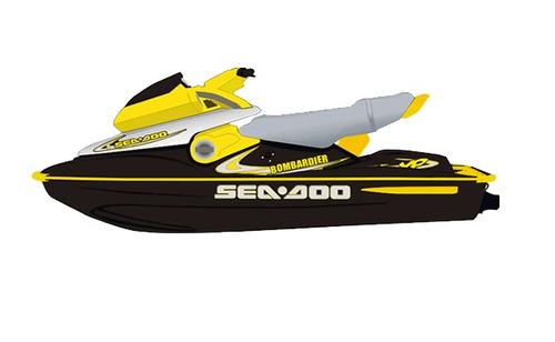 adesivos jet ski sea doo xp - 2000 (sob encomenda)