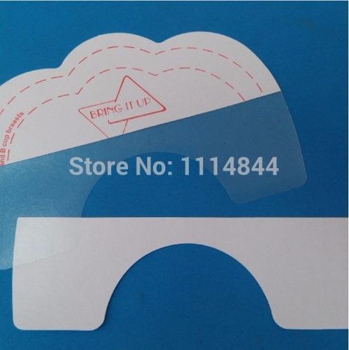 adesivos levanta seios kit com 10 adesivos