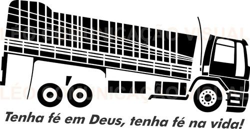 Aparador Significado Cocina ~ Adesivos Para Caminhões Tunning R$ 45,00 em Mercado Livre
