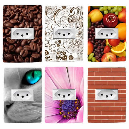 adesivos para espelho de tomadas e interruptores