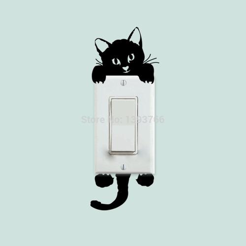 adesivos para interruptor em vinil brilhante