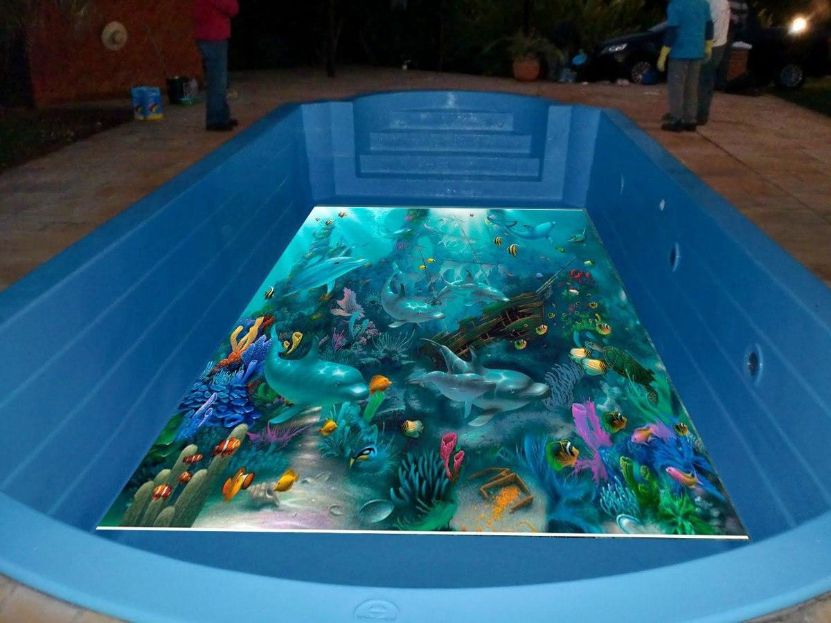 Adesivos para piscinas em impress o digital r 120 00 em for Piscinas modelos formas