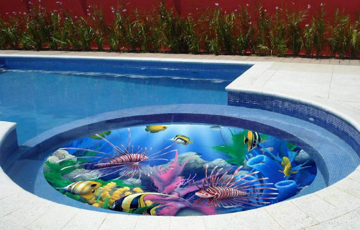 Desenho de uma piscina piscina de fibra infantil piscina for Piscina tubular pequena