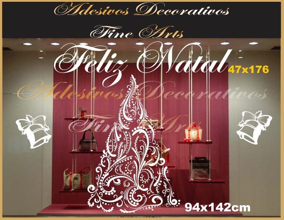Arte E Artesanato Folclorico ~ Adesivos Para Vitrines Lojas Encomenda Ofertas Feliz Natal