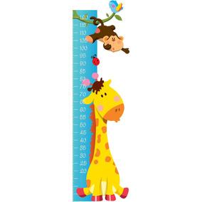 ea449b512 Regua Crescimento Infantil Bebe Adesivo Girafa - Adesivos de Parede Quarto  Infantil no Mercado Livre Brasil