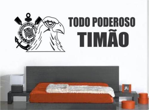 Artesanato Angolano ~ Adesivos Parede Torcida Tim u00e3o Fiel Corinthians Arena Gavões R$ 59,90 em Mercado Livre