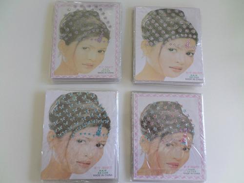 adesivos pet kit bind piercing + coroas de strass adesivas