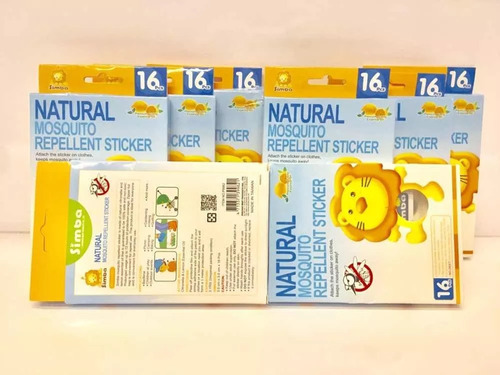adesivos  repelente natural simba p/ bebês frete gratis