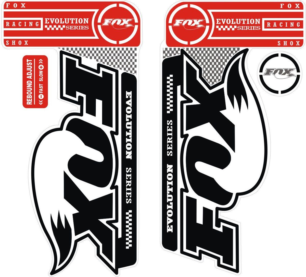 Armario Antiguo Restaurado ~ Adesivos Suspens u00e3o Bike Mtb Fox Evolution Series 29 R$ 39,00 em Mercado Livre
