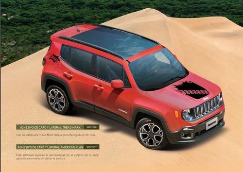 adesivos tread mark - renegade jeep