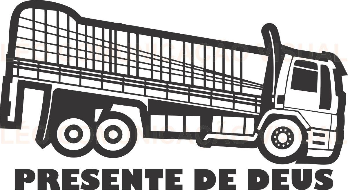 Adesivos Tunning Para Vidros E Latas De Caminhões R$ 60