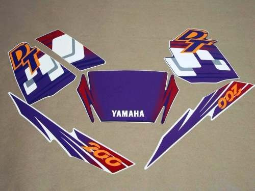 adesivos yamaha dt 200 1997