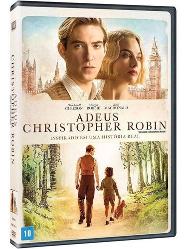 adeus christopher robin - dvd - domhnall gleeson - novo