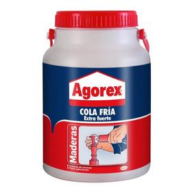 Adhesivo Cola Fría 3,2 Kilos Maderas.-agorex (envío Gratis)