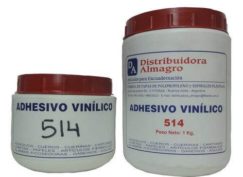 adhesivo cola vinílica para encuadernación n°514 x 1/2 kg.