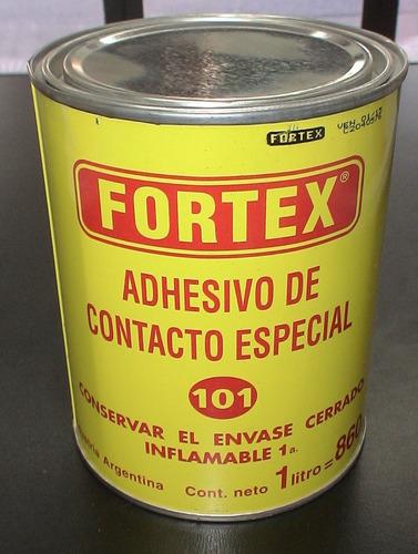 adhesivo de contacto- fortex- envase de 1 litro