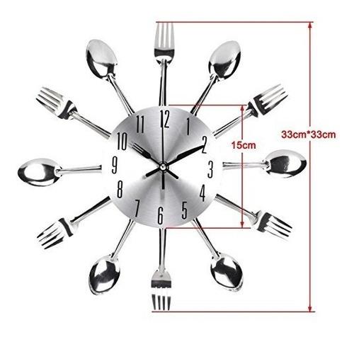 adhesivo decorativo pared diseño cuchara cocina diseño 3d ex