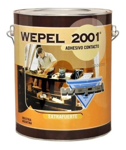 adhesivo doble contacto wepel 2001 2.8kg 4 litros reforzado