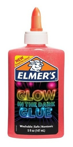 adhesivo elmer`s glow in the dark glue x 147ml