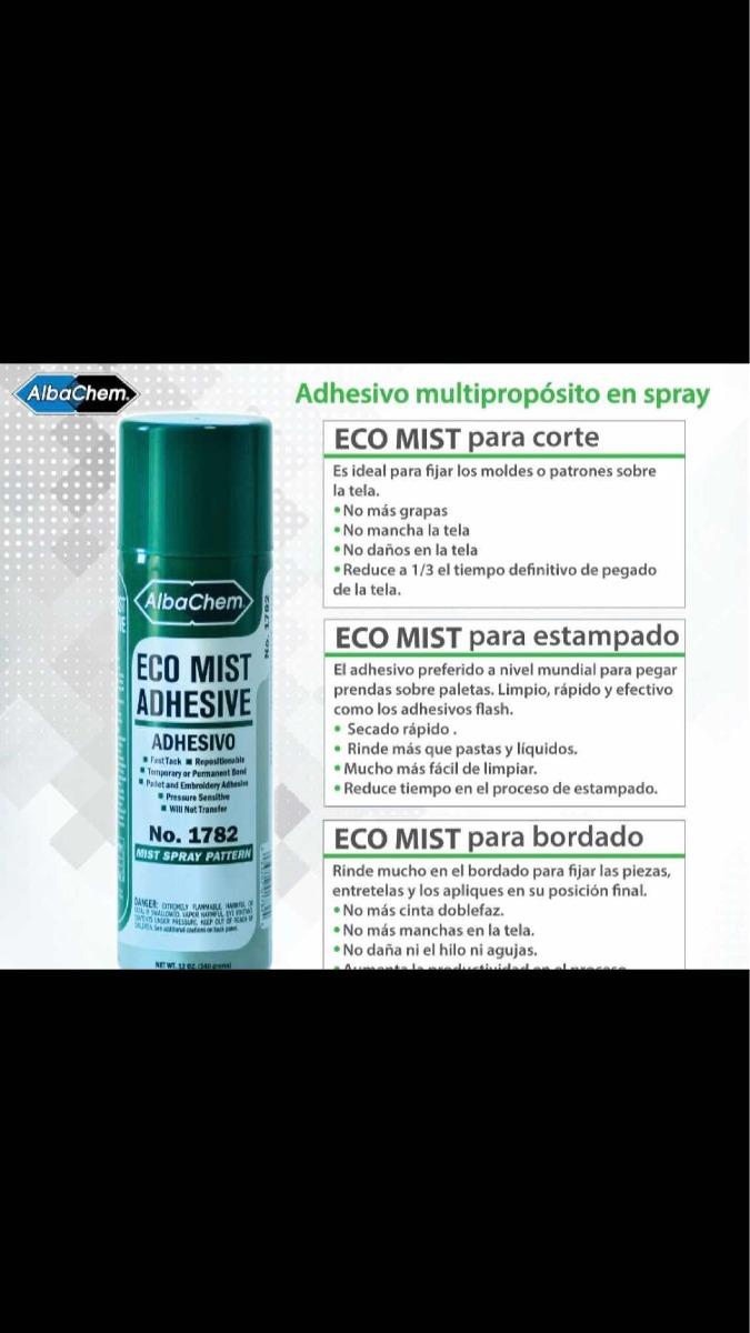 Adhesivo En Aerosol Ecológico Albachem Pegamento En Spray - $ 147.00 ...