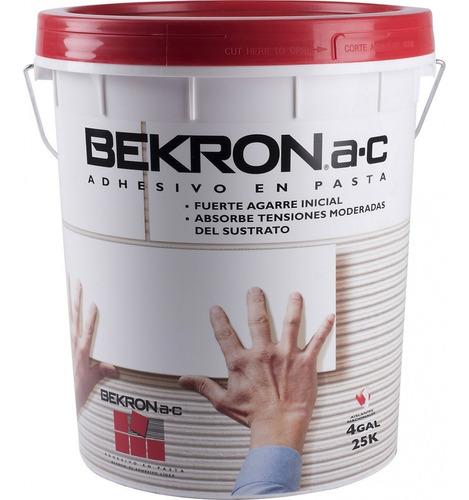 adhesivo en pasta ac bekron 25kg