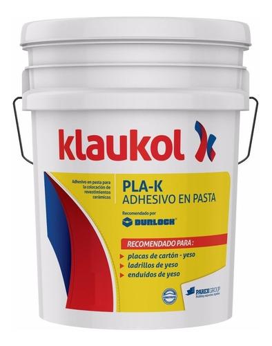 adhesivo en pasta pla-k. 30kg klaukol