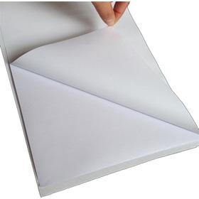 Adhesivo Mate Carta Para Impresión 50 Hojas