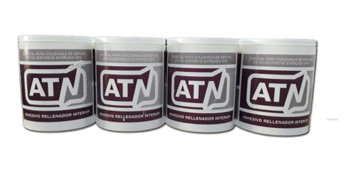 adhesivo para molduras cornisas apliques pote por 1.5 kilos