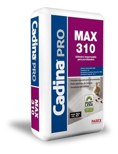 adhesivo para porcelanato cadina pro max 310, (bekron da)
