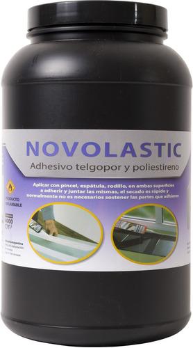 adhesivo para telgopor 4 lts, pega poliestireno expandido
