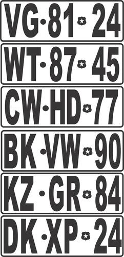 adhesivo reglamentario para camiones