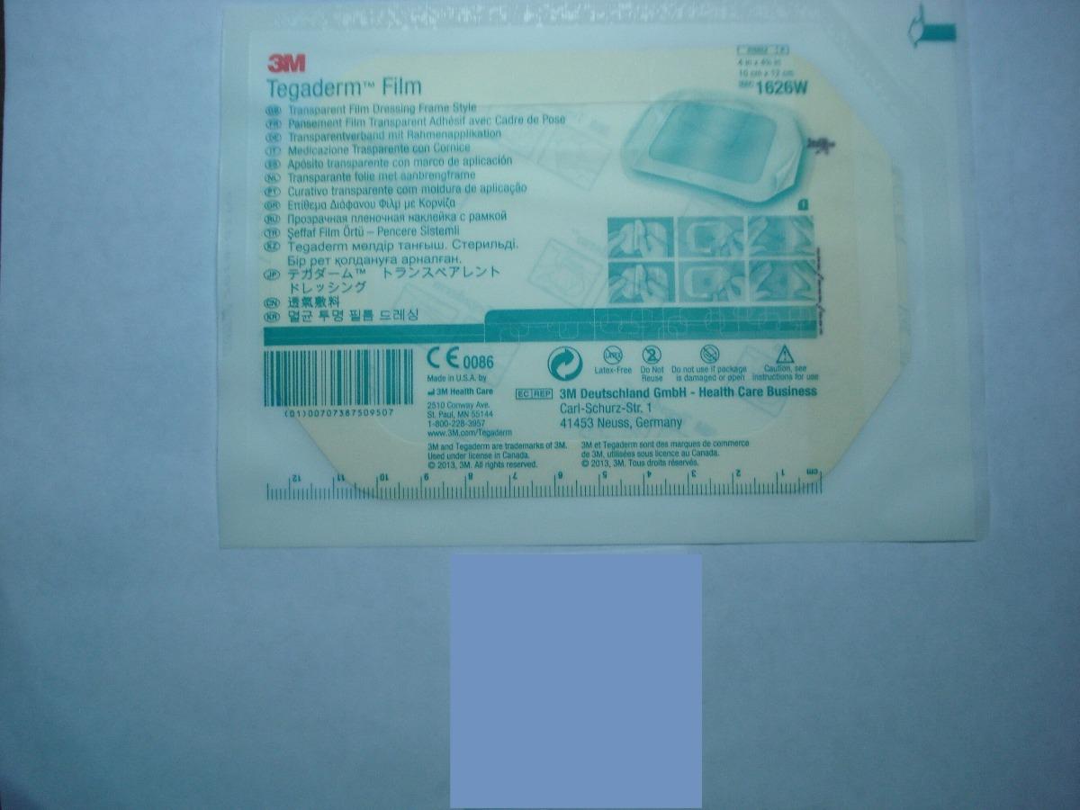 Adhesivo Tegaderm Transparente Marco 10 Cm Por 12 Cm - Bs. 4.700.000 ...