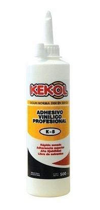 adhesivo vinilico kekol k5 x 1 kg. - mader shop
