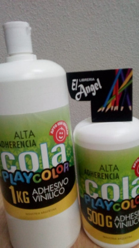 adhesivo vinilico play color x 500 grs.