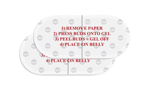 adhesivos de reemplazo para audifonos embarazo bellybuds