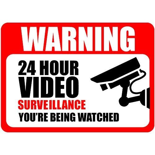 adhesivos frontales adhesivos de vigilancia de video paquete