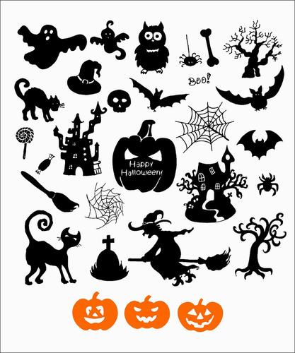 adhesivos halloween / noche de brujas