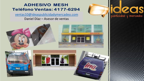 adhesivos laminados y mesh