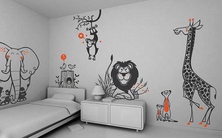 Adhesivos vinilos decorativos para pared o objetos for Adhesivos pared dormitorio
